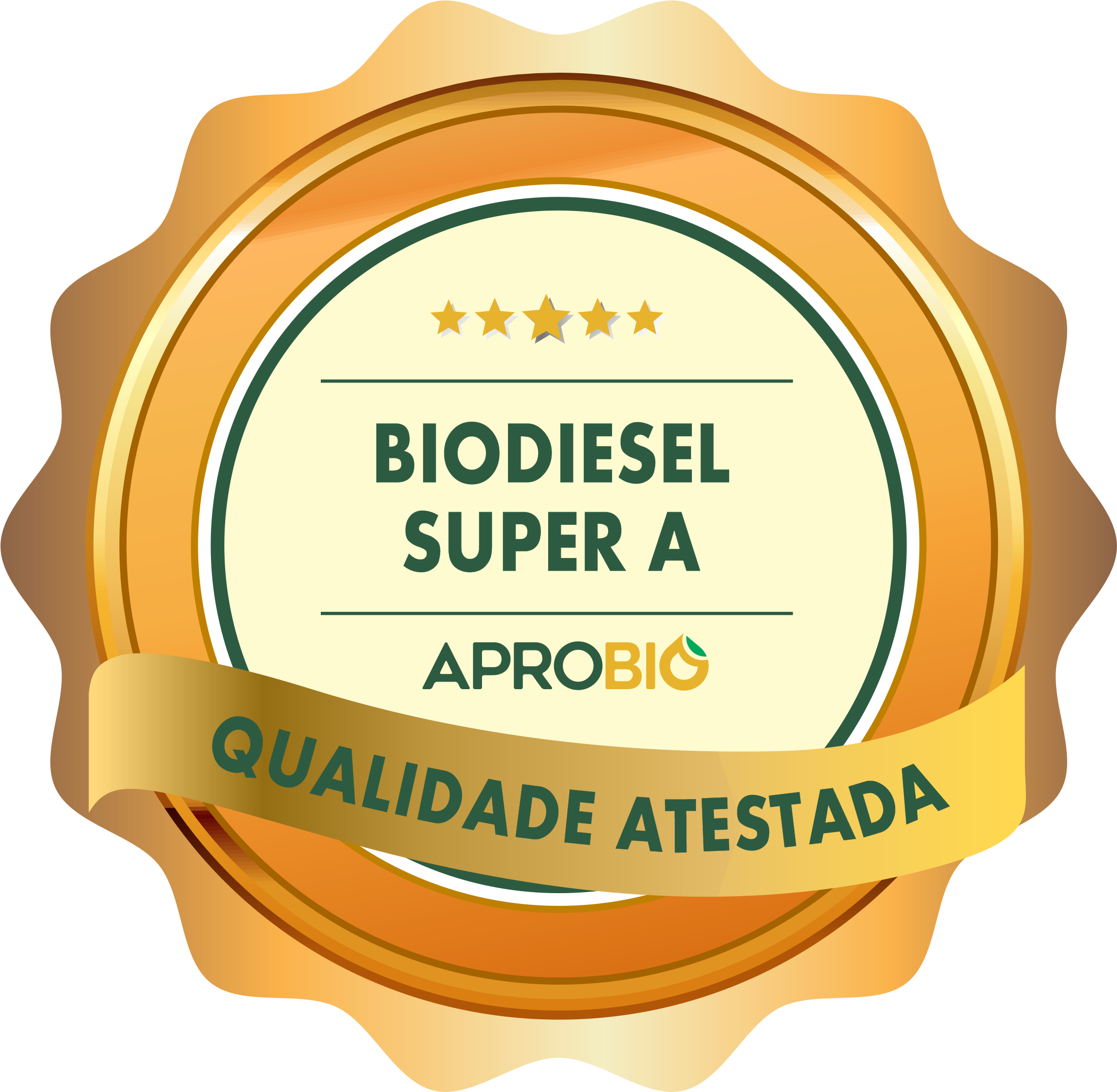 APROBIO Quality Seal attests high standard of biodiesel produced by BSBIOS