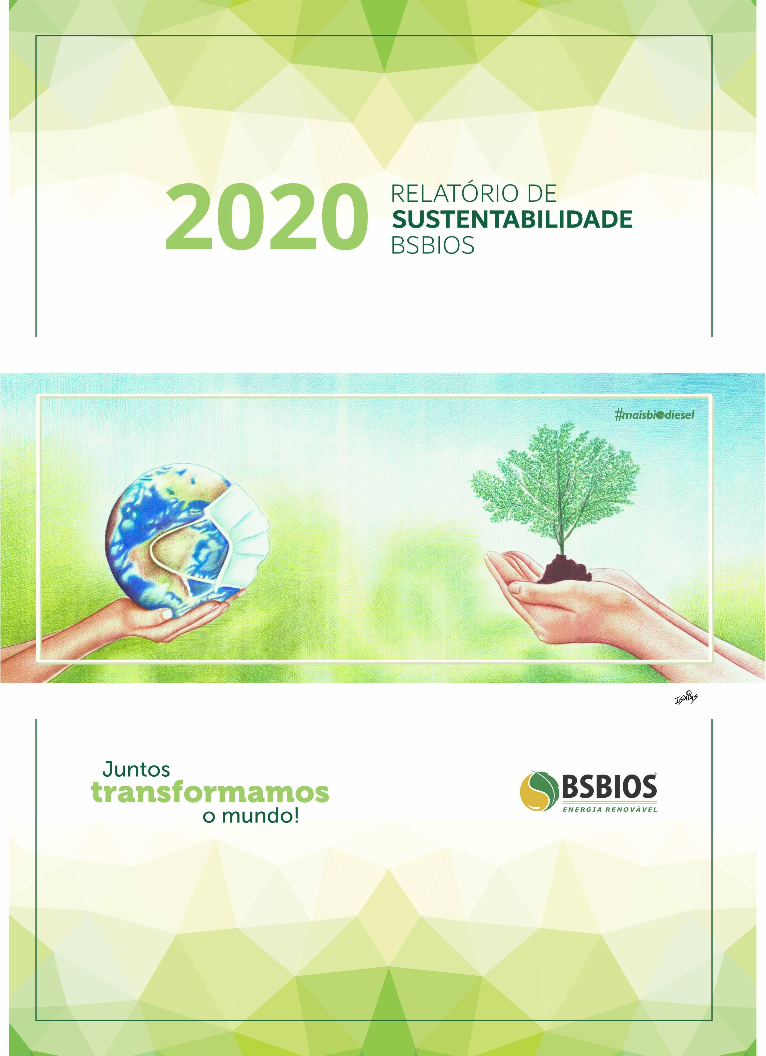 BSBIOS reafirma compromisso ESG em Relatório de Sustentabilidade 2020