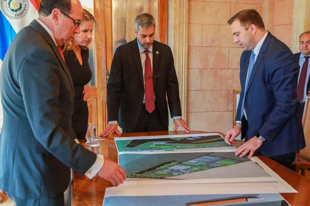 Paraguay President receives updates and new information about ECB Group advanced biodiesel plant project